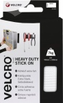 Velcro Heavy Duty Stick On Strips 50mm x 20cm White (EC60240)
