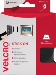Velcro Stick On Tape 20mm X 2.5m Black (EC602150)