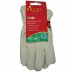 Briers Lined Hide Gloves  Large (B0038)