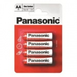 Panasonic AA X 4Pk Batteries (BOX)