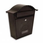 Sterling Classic Post Box Black