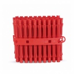 6mm Wall Plug Box Of 50 (1000plugs) - Red