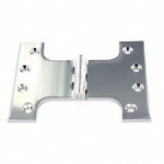 Parliament Hinge Satin Chrome New 2009 4 x 3 x 5''1½ pr (S4252)