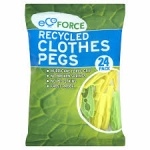 EcoForce Clothes Pegs 24Pk