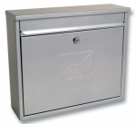 Sterling Elegance Post Box Silver