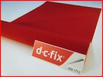 DC Fix Decorative Self Adhesive Film 45cm x 5m Velour Red (F2051712)