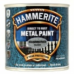Hammerite Metal Paint Hammered Silver 750ml