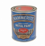 Hammerite Metal Paint Smooth Red 750ml