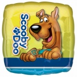 18'' Character Foil Balloon : Scooby - Doo Square