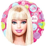 18'' Character Foil Balloon : Barbie Pattern