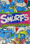 The Smurfs Jumbo Colouring Book